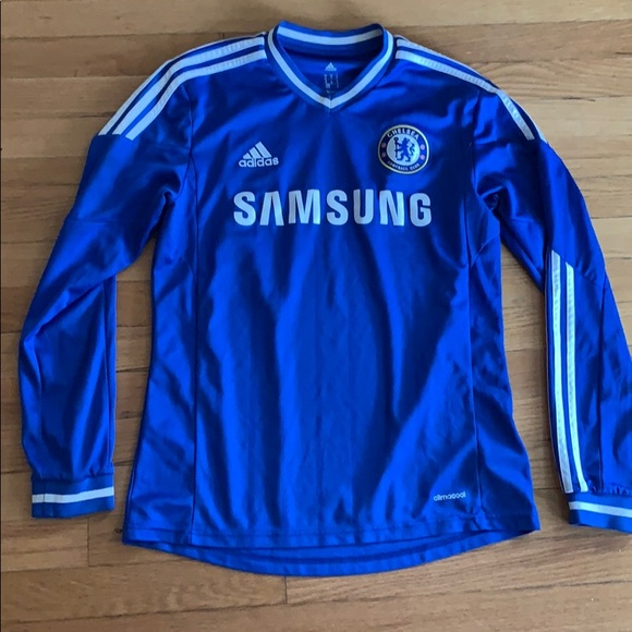 sale retailer 74c67 a11c7 Chelsea football club Samsung jersey